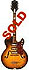 Silvertone-Harmony 1429L - 3 pickup tobaccoburst finish hollow body electric guitar 1959