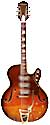 Silvertone 1454 red 3 pickups, Bigsby, Harmony-made, 1964-2014