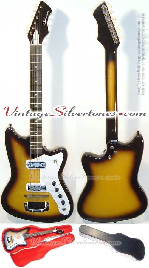 Silvertone Harmony 1477L Silhouette