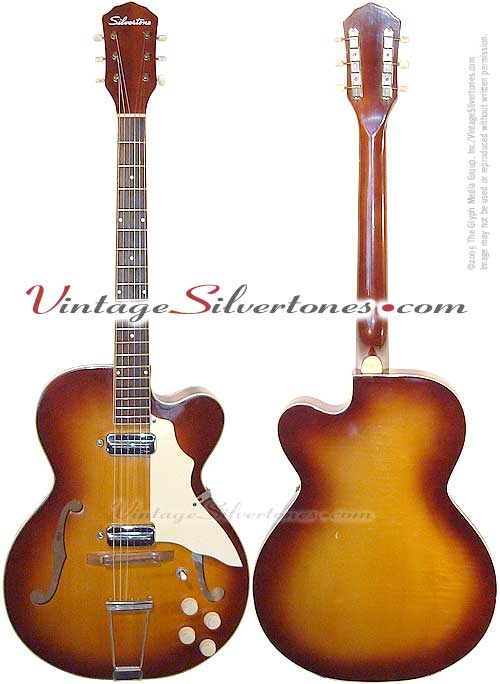 Silvertone World ~ 1950s Electric Guitars ~ Model 1425