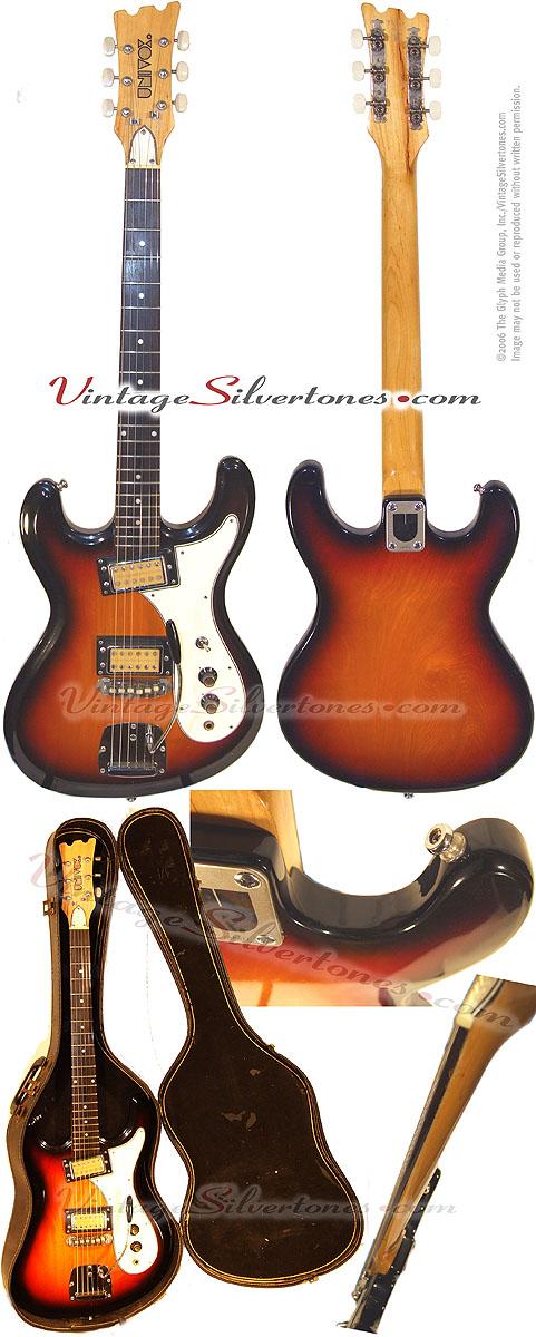 Guitars numbers univox serial univox